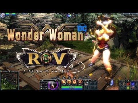 "[HoN] : จะเป็นยังไงถ้า ""Wonder Woman (วันเดอร์วูแมน)"" ของ RoV มาอยู่ในเกมส์ HoN"