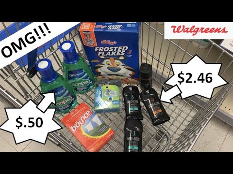 UNBELIEVABLE WALGREENS HAUL! EXTREME COUPONING! WALGREENS COUPONING THIS WEEK! WAGS DEALS THIS WEEK!