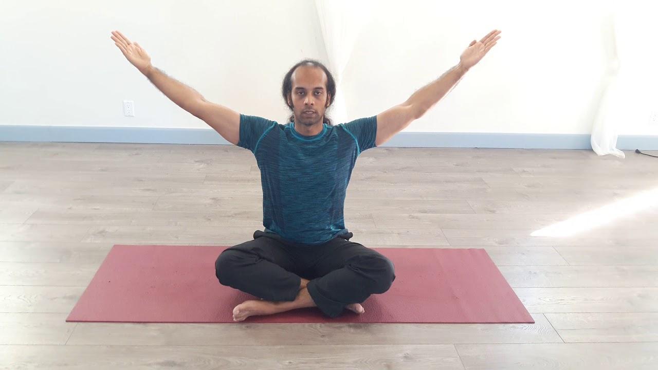 Yoga for shoulder pain - YouTube