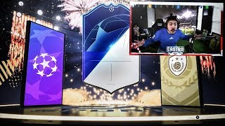 TOTGS AND ICON IN A PACK! 4 BLUES!! FIFA 19
