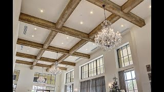 Tilton Faux Wood Ceiling Beams | QUICK & EASY TO INSTALL!