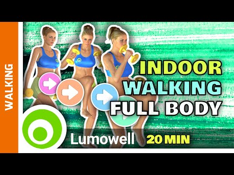 Indoor Walking Workout Full Body Toning At Home 20 Minutes