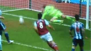Andy Carroll AMAZING 2ND VOLLEY GOAL vs West Brom 3-0 30/03/13