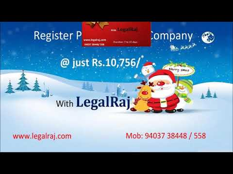 Register Private Limited | Public Limited | LLP Company with LegalRaj