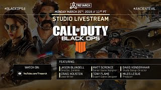 Official Call of Duty®: Black Ops 4 – Studio Livestream: March 26 Update thumbnail