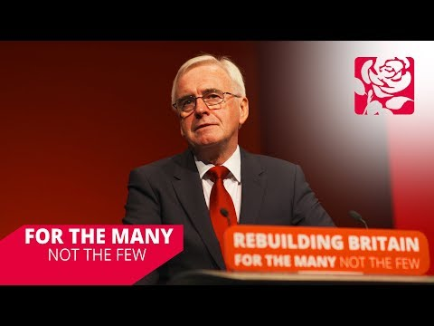 John McDonnell's Speech to Labour Conference