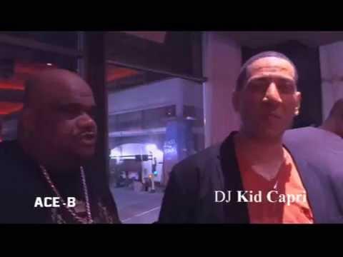 Kid Capri Interview W/ Ace-B T.V & PT Media