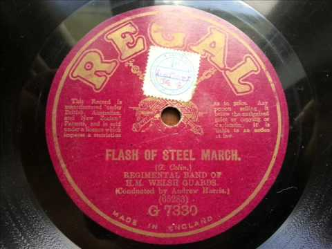 WELSH GUARDS BAND - Flash Of Steel March