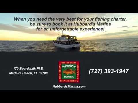 Private Fishing Charters Johns Pass Madeira Beach FL Tampa Bay Http://www.HubbardsMarina.com