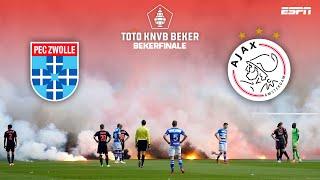 KNVB BEKERFINALE | 2014: PEC Zwolle - Ajax