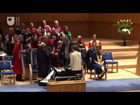 Manchester degree ceremony, Friday 10 October 15:00