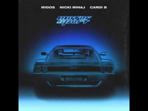 Migos Ft. Nicki Minaj & Cardi B - Motor Sport (Clean)