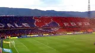 La hinchada mas linda del mundo, Independiente Medellín Vs Tolima, Salida Monumental