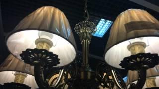 Люстры Лампада(Люстры Лампада Изящная люстра, сочетающая в себе красоту абажуров, хрусталя и латуни. Латунные компоненты..., 2015-11-25T10:59:49.000Z)