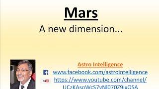 Mars... A new dimension