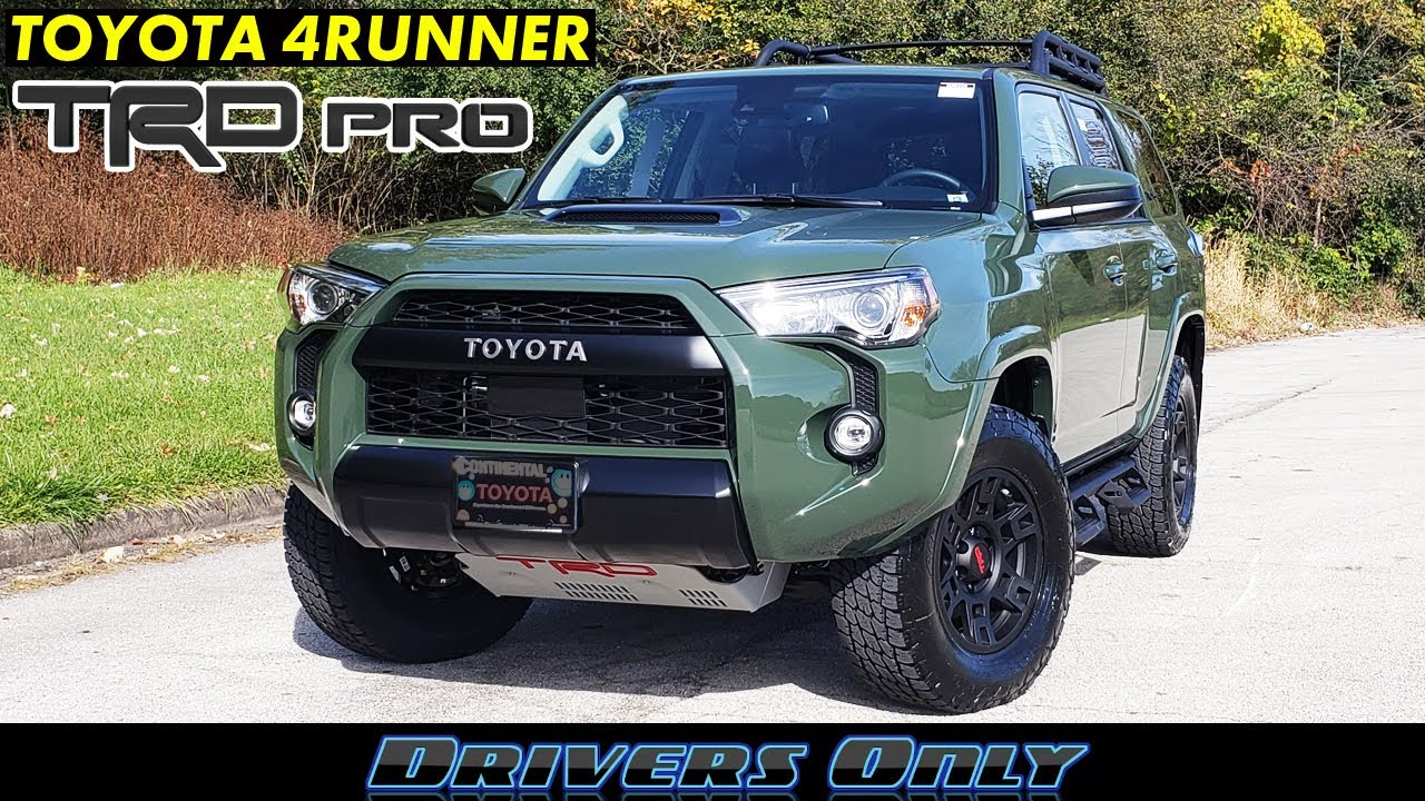 2020 Toyota 4runner Trd Pro Tackle The Outdoors In Style Youtube