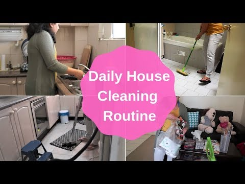 My Daily House Cleaning Routine(2018) | Indian SAHM  | House Cleaning Tips