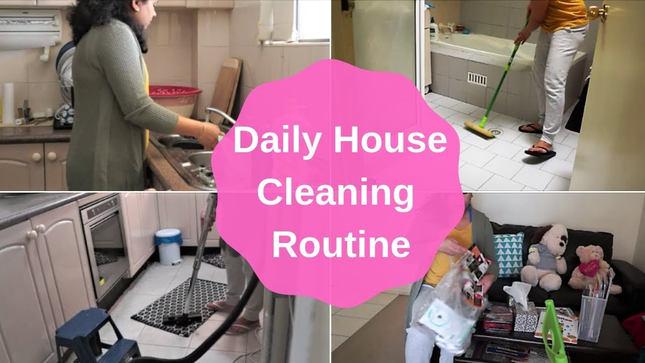 My Daily House Cleaning Routine(2018)