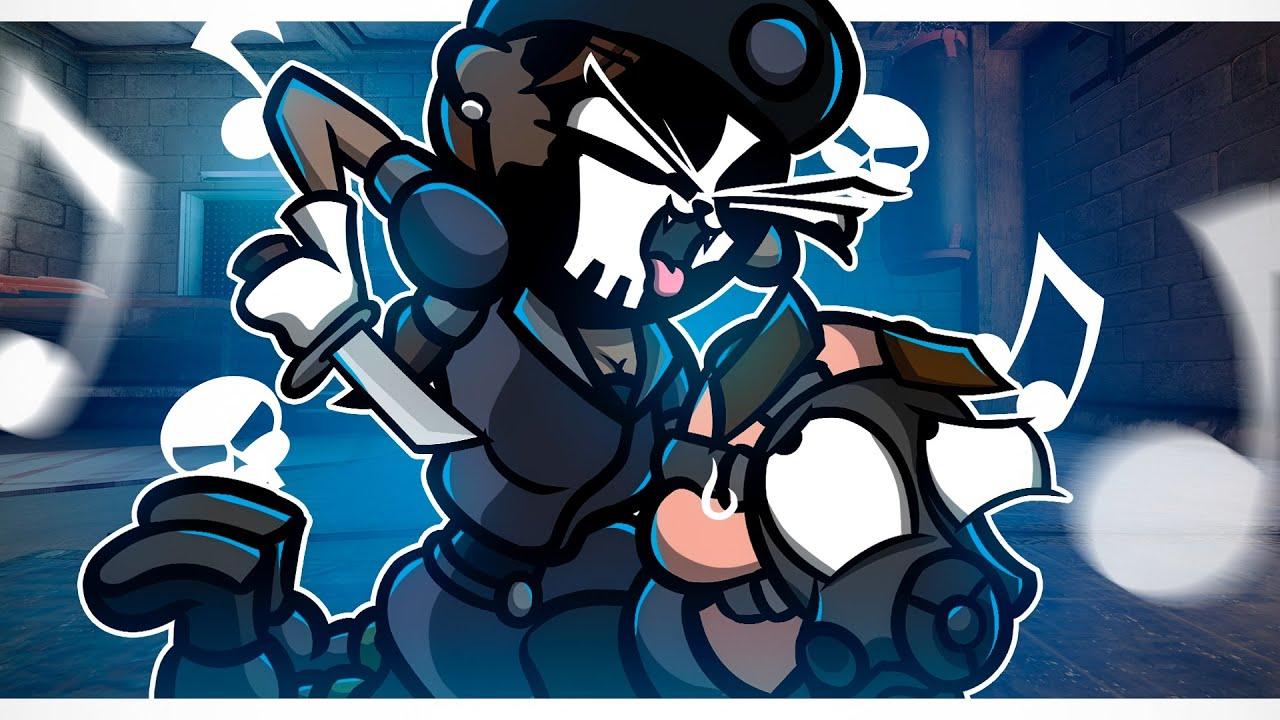 ♪ Catveira's Moves ♪ in Rainbow Six Siege (Animation)
