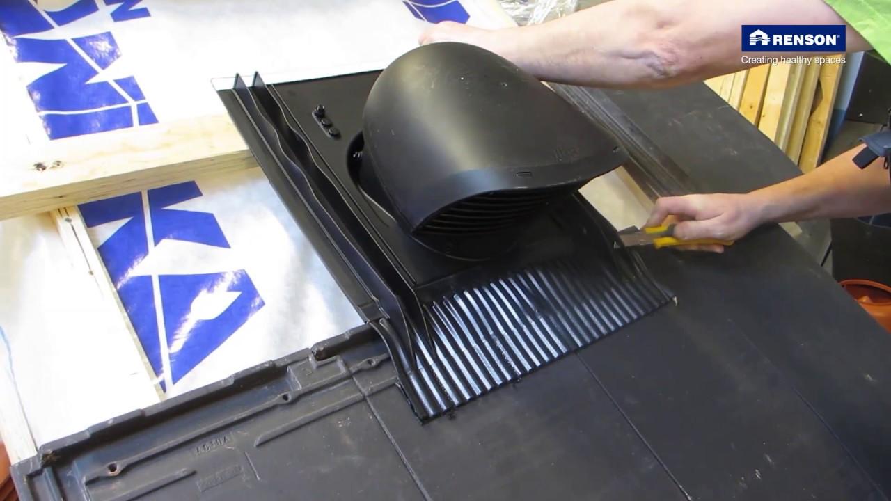 Universele design dakdoorvoer - folie onderdak - YouTube
