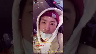 20201227 U-KISS Lee Junyoung Instalive (유키스 이준영)
