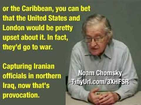 Bush (*Obama's) Threats and Actions Risk Accidental War with Iran