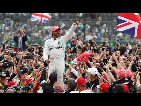 Behind The Scenes On Lewis Hamilton's Record 6th British Grand Prix Win At Silverstone