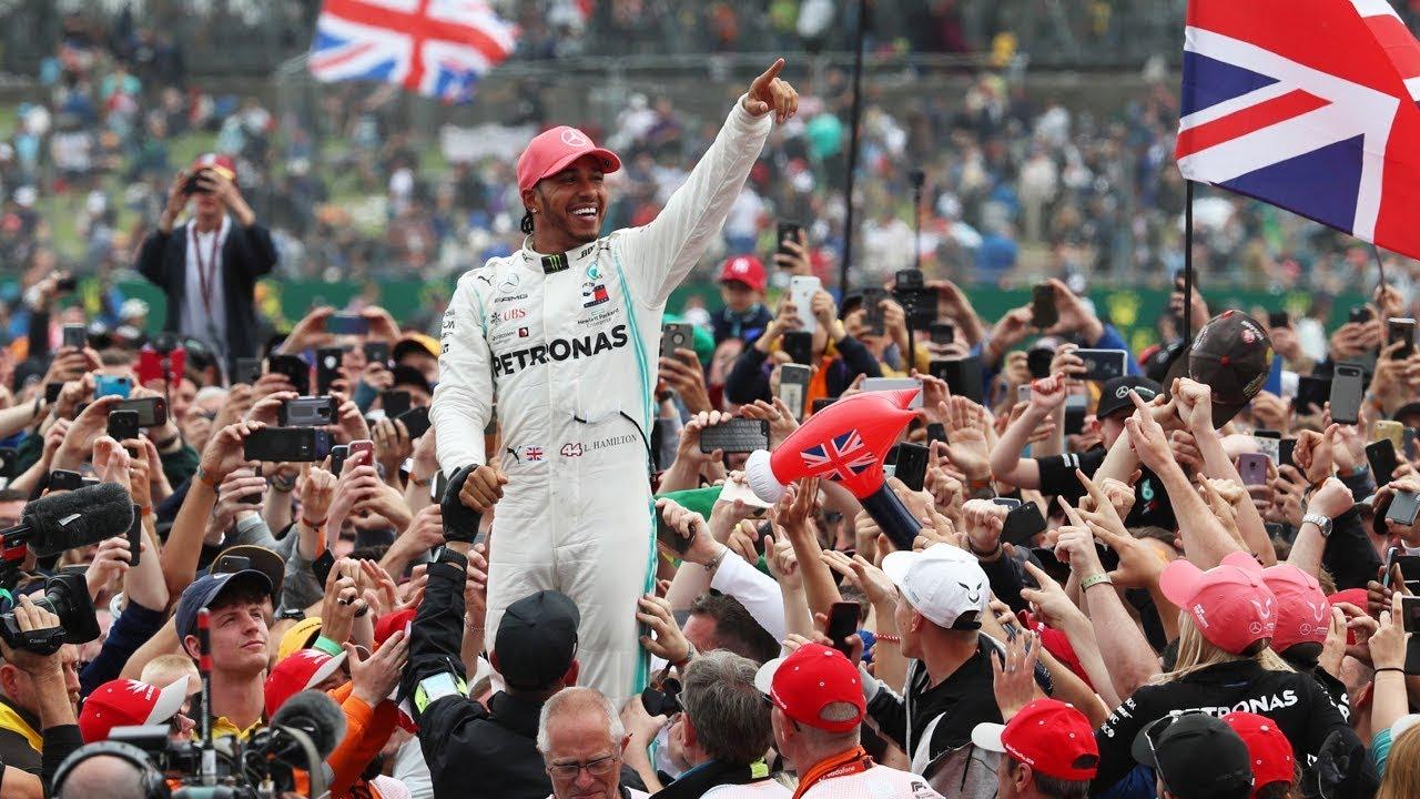 Behind The Scenes On Lewis Hamilton's Record 6th British Grand Prix Win At Silverstone