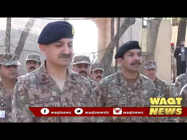 Qamar Javed Bajwa says Pakistan Army is a professional and combat hardened fighting force,