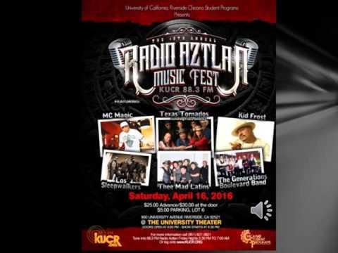 19th KUCR 88.3: Radio Aztlan Music Festival 2016 (Riverside, CA)