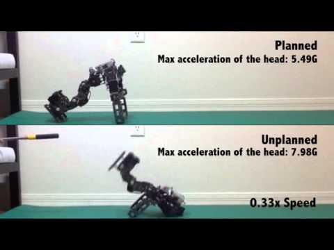 Algorithm allows robot to fall gracefully