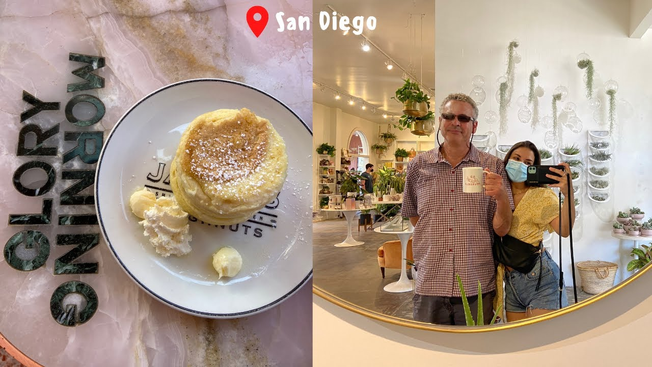 Weekend Trip to San Diego | Morning Glory, Shopping + more!