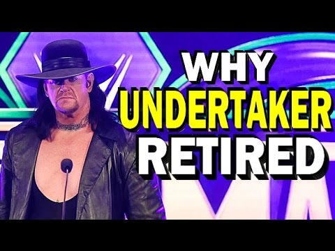 Thumbnail: 10 Reasons Why The Undertaker Retired from WWE