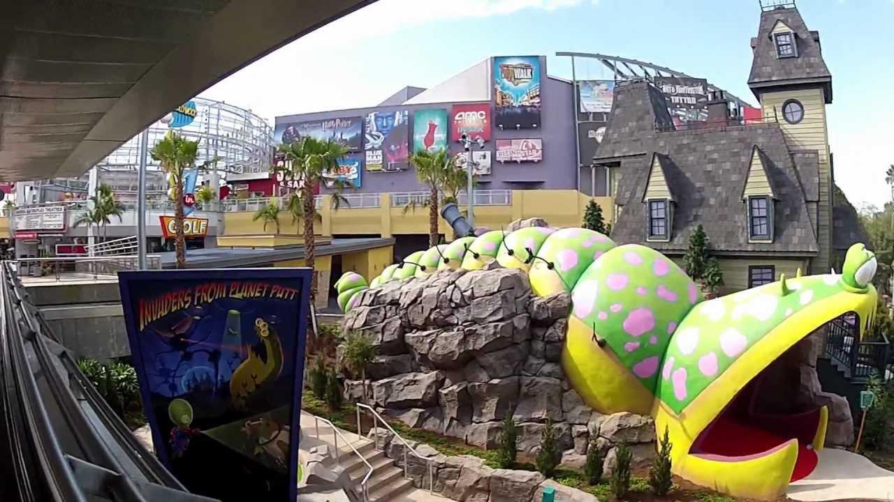 Hollywood Drive In Golf Universal Studios Orlando 2012 Hd