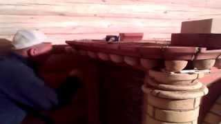 Кладка печей и каминов из кирпича.(На видео снят процесс нашей работы по кладке камина из кирпича. Все детали из кирпича обрабатываются полнос..., 2014-03-02T19:35:57.000Z)