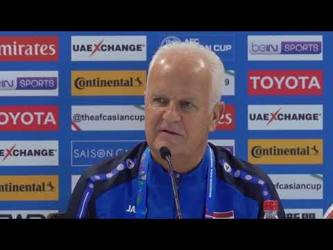 Syria's Bernd Stange Matchday 1 pre-match press conference