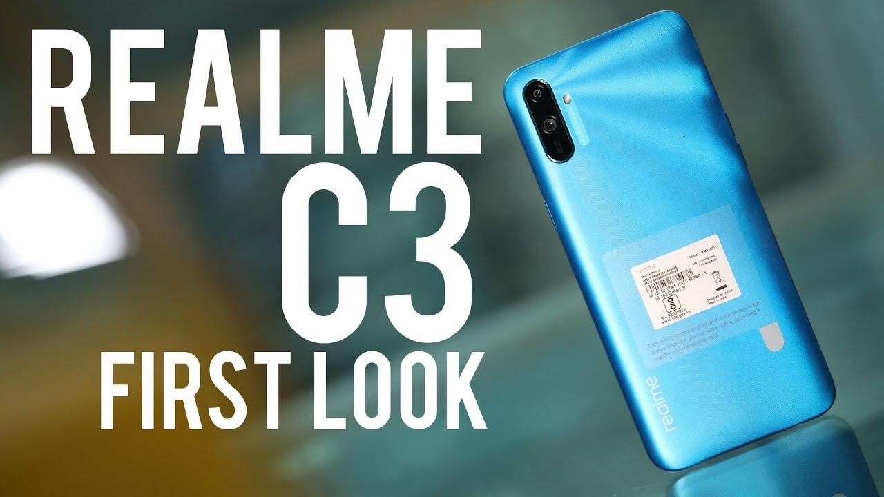Realme C3 First Look: क्या है बेस्ट बजट स्मार्टफोन?