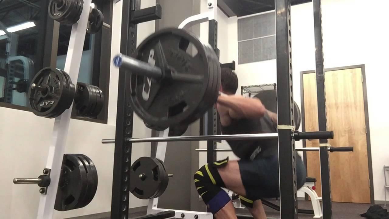 Squats: 315lbs x 10 - JC Speed Development - YouTube