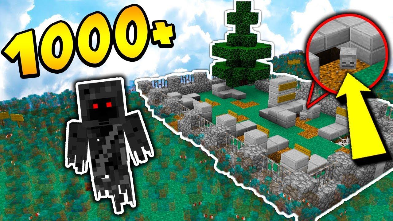1000 DUCHÓW vs CMENTARZ + TNT – MINECRAFT APOKALIPSA #19