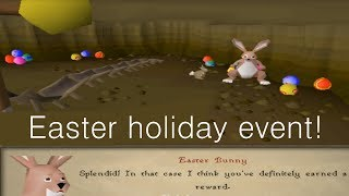 Runescape 2007 Easter holiday event, get your bunny ears!