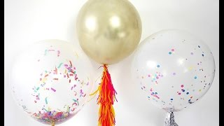 Quick & Easy Balloon Party Hacks | BirdsPartyTricks