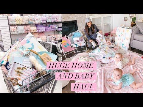 HUGE HOME DECOR AND BABY HAUL!💕HOMESENSE AND MARSHALLS -SLMissGlamVlogs