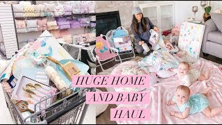 HUGE HOME DECOR AND BABY HAUL!💕HOMESENSE AND MARSHALLS -SLMissGlamVlogs