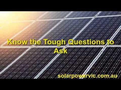 Solar Panel Cost Per Watt Installed Invermay | Call 8899 7563