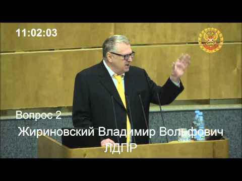 Жириновский: Реальный курс- 60 копеек за  доллар! 25.03.15