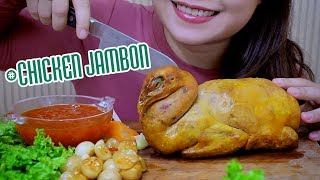 Asmr Chicken Jambon , Extreme Chewy Eating Sounds | Linh Asmr