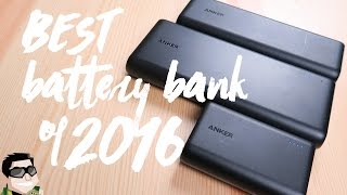 Anker PowerCore Best USB Battery Bank of 2016