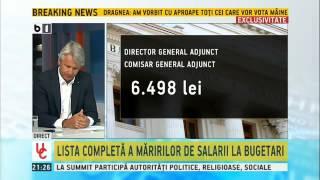 Teodorovici, despre legea salarizării bugetarilor: Performanța se poate ține cu salariu adecvat
