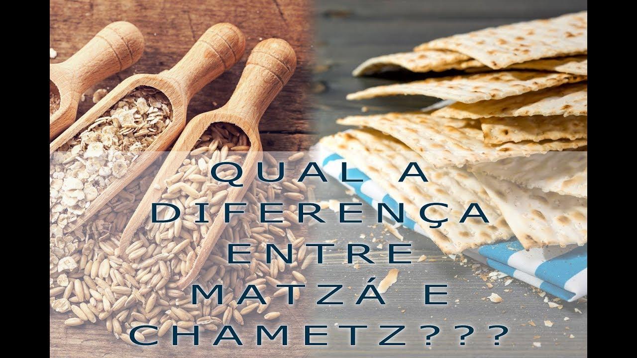 Qual a Diferença Entre Matzá e Chametz?? Saiba como Canal Alef