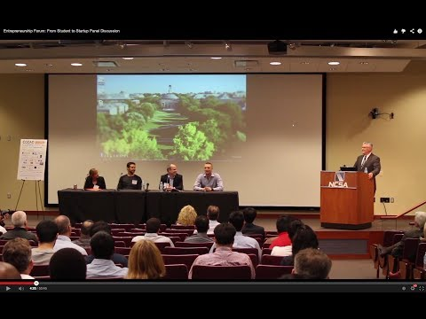 Entrepreneurship Forum: From Student to Startup Panel Discussion